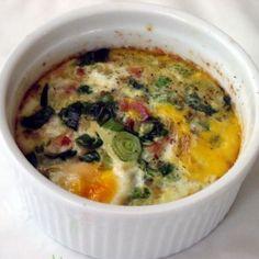 baked eggs--SO GOOD