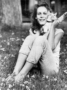 "Jamie Lee Curtis and friend. Let's call him ""Perfect"". What's so wrong with wanting to be Perfect?"
