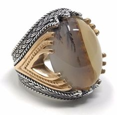 Rare Find 925K STERLING SILVER Yemeni AGATE(Aqeeq) MEN'S RING USA SELLER P5C   Jewelry & Watches, Men's Jewelry, Rings   eBay!