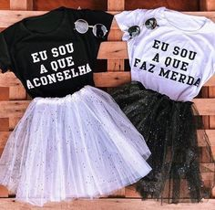 Matching Outfits, Cute Outfits, Fantasy Party, Best Friends Forever, Bffs, Fashion Outfits, Womens Fashion, Ideias Fashion, Graphic Sweatshirt