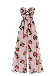 M7789 Dress Design Drawing, Dress Design Sketches, Dress Drawing, Fashion Design Sketches, Drawing Clothes, Dress Designs, Drawing Sketches, Fashion Design Template, Pen Drawings