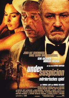 Under Suspicion -  Mörderisches Spiel * IMDb Rating: 6,5 (13.826) * 2000 France,USA * Darsteller: Gene Hackman, Morgan Freeman, Thomas Jane,