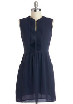 Sipping Punch Dress in Navy, #ModCloth