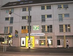 Donaufelder Strasse in Wien, Wien FUN Bildungszentrum Felder, The Good Place, Multi Story Building, Places, Fun, Lugares, Hilarious