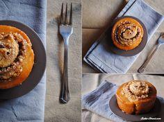 Rollos de canela, naranja y miel – Cinnamon orange honey buns