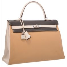 735c269dbc69 Hermes Kelly Special Order Tricolor Extremely Rare Hermes Kelly Special  Order Tricolor Extremely Rare Hermes Kelly