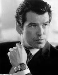 Pierce Brosnan and his piercing look