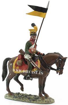 Ulano, Ejército Imperial austríaco, 1809, 1:30, Del Prado