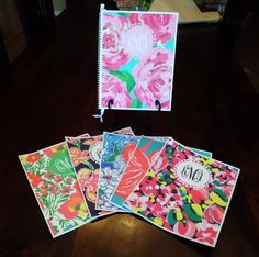 Custom Monogrammed Wedding Planner Lilly Pulitzer Designs