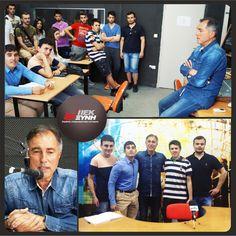 Ο Βαγγέλης Αλεξανδρής ήταν καλεσμένος του Τομέα Επικοινωνίας & ΜΜΕ των ΙΕΚ ΞΥΝΗ, για να παραχωρήσει συνέντευξη για την εργασία των σπουδαστών, η οποία αφορά το ντόπινγκ στον αθλητισμό, η οποία πραγματοποιήθηκε την Τετάρτη 27 Μαϊου 2015, στο Τηλεοπτικό Studio (4ος όροφος), Βαλαωρίτου 9 στη Θεσσαλονίκη. Με την ευκαιρία της παρουσίας του στο ΙΕΚ ΞΥΝΗ Μακεδονίας, θέλησε να μπει στο ραδιοφωνικό studio μαζί με τους σπουδαστές και να συμμετέχει ως καλεσμένος στην εκπομπή που ετοίμασαν οι…