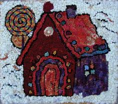 One Rug, Two Rugs, Three Rugs | rughookingmagazine.com Wool Embroidery, Wool Applique, Penny Rugs, Punch Needle, Rug Hooking, Art World, Primitive, Third, Recycling