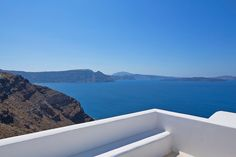 Clean lines, opulence and heavenly views only at the Canaves Oia villa!