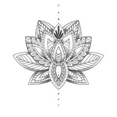 lotus mandala tattoos - Google zoeken                                                                                                                                                                                 More