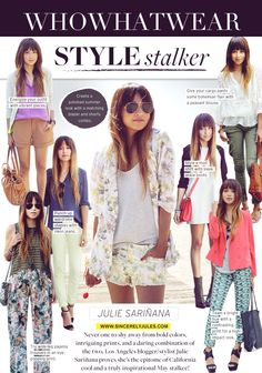 Sincerely, Jules - if I don't already have this blog pinned, it will be now! Love her style!