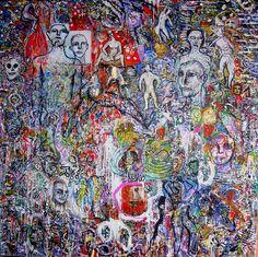 Celebracion / oleo sobre lienzo   @torremayado #art #artist artwork #artfair  @artbasel @arteinformado