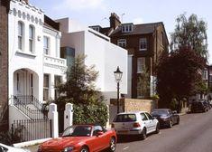 Tela elástica oculta en ventanas y balcones de la casa de un artista de Hampstead - Noticias de Arquitectura - Buscador de Arquitectura