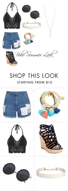 """""""summer look"""" by eleonora199 on Polyvore featuring House of Holland, Charles by Charles David and Humble Chic"""