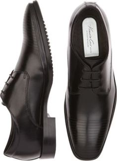 Kenneth Cole Set Your Clock Black Lace Ups | Men's Wearhouse