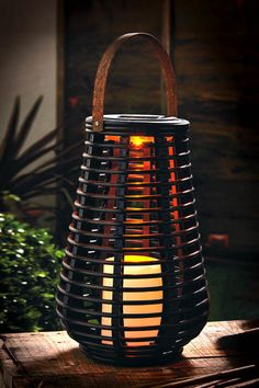 Tall Rattan Effect Basket Solar Light How fabulous is this??  More great ideas here: https://www.facebook.com/groups/supersupermarket/