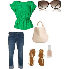 Green!, created by jamie-preston on Polyvore
