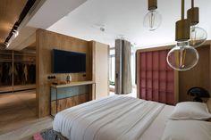 Futuristisches Design, Wood Design, Design Ideas, Loft Industrial, Colorful Apartment, Appartement Design, Balcony Furniture, Outdoor Furniture, One Bedroom Apartment