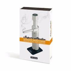เก็บเงินปลายทาง  100%Chef (เครื่องรมควัน) Smoking Gun l SuperAladin ProfessionalSmoker 100% Chef 10/0003 Super Aladin Smoker & Aromatizer  ราคาเพียง  9,500 บาท  เท่านั้น คุณสมบัติ มีดังนี้ High Quality Good Product Good Material Metallic motor base: holds themotor, metallic propeller and batteries (4 x AA batteries notincluded) 1 plastic base to stand thesmoker upright. 2 metallic chambers, one forwood chips and the other one for the aromatizingingredient. &6 metallic screens. 3large ones…