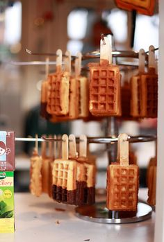 Indian Wedding Inspirations - Waffle Bar