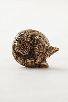 Baby Room-door knob details Forest Critter Knob #anthropologie