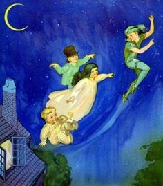 Peter Pan Flying, Roy Best (American
