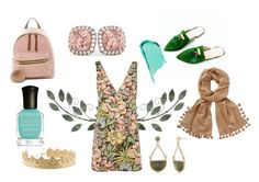 """""""Bushels"""" by jamie-fabbro on Polyvore featuring Topshop, Lilly Pulitzer, T-shirt & Jeans, Deborah Lippmann, Allurez and New Directions"""