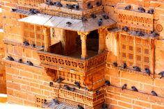 Jaiselmer fort,rajasthan, india