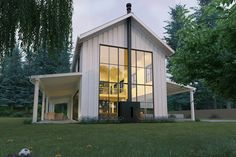 Reinventing the barn -- design by Nicholas Lee, AIA