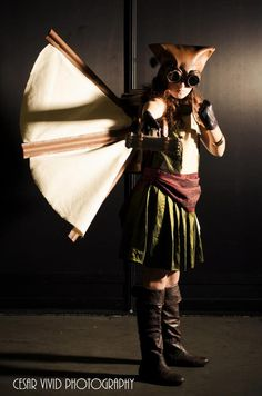 Hawkgirl Cosplay by Lily from DC Steampunk Cosplay