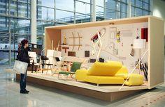 Pop Up Shop Design / Retail Design / Semi Permanent Retail Fixtures / VM / Retail Display /