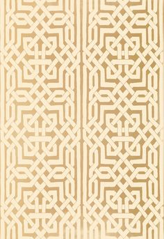 Schumacher--Malaga Gold wallpaper