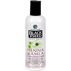 Black Seed Conditioner - Henna And Amla - 8 Oz