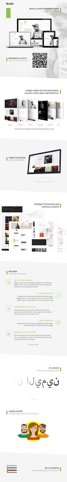 iBloga — Creative Multipurpose Blog/Portfolio WordPress Theme • Download theme ➝ https://themeforest.net/item/ibloga-creative-multipurpose-blogportfolio-wordpress-theme/15859129?ref=pxcr