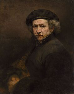 Rembrandt painted this self-portrait after he went bankrupt. He looks care-worn but unbroken. (Image courtesy of the MIA)