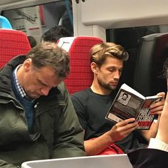 I hope it's not illegal to bring this fine Colombian product across the border, but honestly, I think it'd be a crime not to. If customs… Guys Read, How To Read People, Book People, International Man Of Mystery, Celebrities Reading, Nick Bateman, Life Of Crime, Man Images, Books For Boys