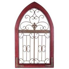 Get Rustic Red Metal & Wood Wall Decor online or find other Wall Art products from HobbyLobby.com