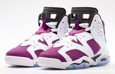 """Air Jordan 6 GS """"Grape"""""""
