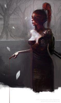 Quality Digital Art by Bastien Lecouffe Deharme