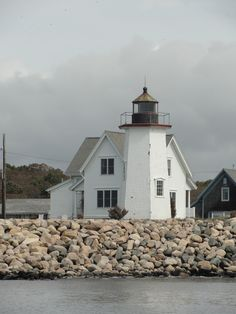 Wings Neck Light, Village of Pocasset in Bourne, Massachusetts