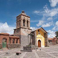 Chucuito (Puno) Horario de visita : Durante el día. ubicación : A 18 Km al sur de Puno (15 minutos en auto). Puno Conocida también como la Ciudad de las Cajas Reales por ser centro de recolección de impuestos durante la colonia. Destacan la plaza principal y las iglesias renacentistas de Santo Domingo (siglo XVI) y la Asunción (siglo XVII).