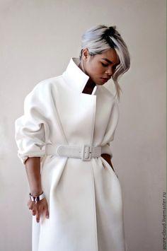 White coat | Купить Белое пальто - мечта! - белый, однотонный, БЕЛОЕ ПАЛЬТО, Красивое пальто, демисезонное пальто