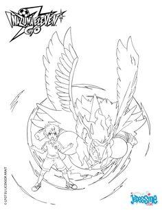 Coloriage Inazuma Eleven Go.Les 106 Meilleures Images De Inazuma Eleven Go Inazuma