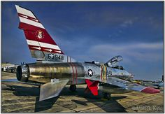F-100F Super Sabre Fighter Jet