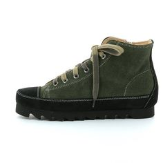 Woman's Leather Sneaker made with vegetable tanned calf linings, with very low chromium content. Leather Sneakers, Hiking Boots, Calves, Shoes, Women, Fashion, Italia, Moda, Baby Cows