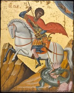 Saint George, Saints, Icons, Painting, Art, Craft Art, Paintings, Kunst, Gcse Art