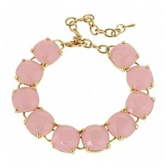 Fornash Charlotte Bracelet ($25) ❤ liked on Polyvore featuring jewelry, bracelets, light pink, bracelet jewelry, bracelet bangle, polished stone jewelry, fornash jewelry and stone bangles